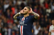 Mauro Icardi bags first goal for PSG while Neymar also on target against Angers