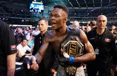 Adesanya dethrones Whittaker to become UFC's undisputed middleweight champion