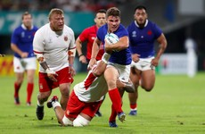 Dupont the difference as France do enough to hold off brave Tonga