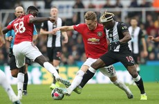 As it happened: Newcastle v Man United, Premier League