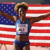 Nia Ali wins hurdles gold as USA finish on a high note