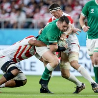 'I wasn't happy with how my lungs were burning' - Healy motivated for Samoa
