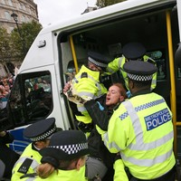 276 people arrested during Extinction Rebellion protests in London