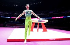 McClenaghan celebrates as he secures Olympic berth and place in World final
