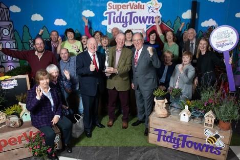 Westport, winners of Ireland's tidiest large town 2019.