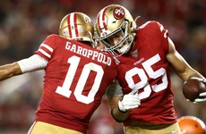 49ers move to perfect 4-0 after outclassing Mayfield's Browns