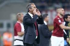 AC Milan part ways with manager Giampaolo with Italian giants 13th in Serie A