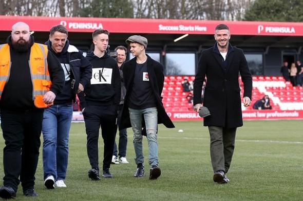 Phil Neville's son Harvey included in Irish U19s squad for Denmark friendlies