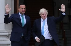 Leo Varadkar and Boris Johnson spoke by phone this evening and hope to meet this week