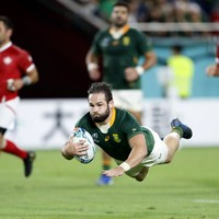Reinach sets World Cup hat-trick record as Springboks thrash Canada