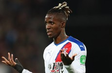 Arsenal target Zaha admits his head was 'a bit all over the place' after failed summer move