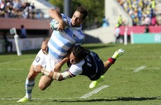 Sanchez stars as Argentina end World Cup with 7-try win over USA