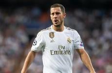 Concerns about Eden Hazard being overweight dismissed by Belgium boss Martinez