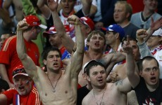 VIDEO: Brawls erupt before Poland-Russia Euro 2012 game