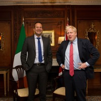 Leo Varadkar and Boris Johnson say they can 'see a pathway to a possible deal'