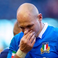 'It's ridiculous that there was no Plan B' - Italy's Parisse slams World Rugby