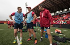 New Munster half-back partnership among five changes for Cheetahs clash