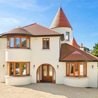 Eye-catching Dublin home with turrets, marble floors and a winding staircase for €2m