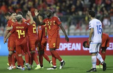 Belgium first team to qualify for Euros after nine-goal San Marino hammering