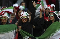 Thousands of Iranian women enjoy football match as Tehran lifts decades-old ban