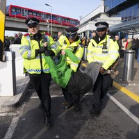 London Police say more than 1,112 arrested in climate change protests