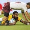 Error-strewn Wallabies earn bonus-point victory over Georgia in tough conditions