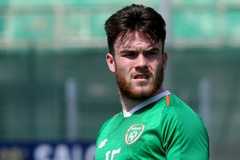 Aaron Connolly has impressed for Ireland at underage level and could feature for the senior team today.