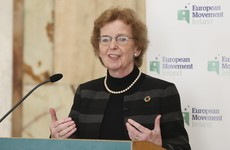 'Greta is right to be angry': Mary Robinson says she was 'moved to tears' by Thunberg