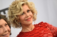 Jane Fonda arrested during climate change protest in Washington