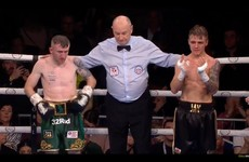 Barnes goes out on his shield in four-round Belfast war with European champion