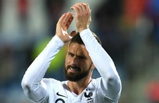 Unbeaten France all but seal qualification as Giroud makes Iceland pay the penalty