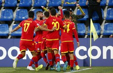 Remarkable scenes as Andorra win Euros qualifier for the first time in 20 years