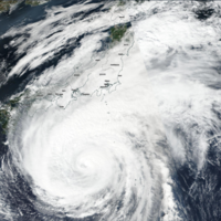 Typhoon Hagibis: Japan's wettest storm in decades makes landfall