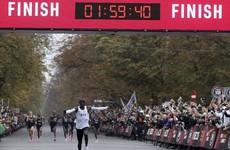History maker! Kenya's Kipchoge busts two-hour marathon barrier
