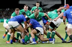 As it happened: Ireland v Samoa, Rugby World Cup