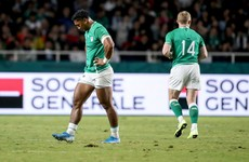 Watch: Bundee Aki sent-off for high tackle against Samoa