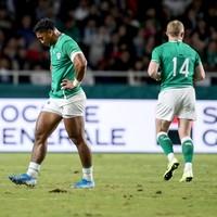 Watch: Bundee Aki sent-off for high tackle against Samoa