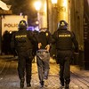 England fans clash with Czech police in Prague