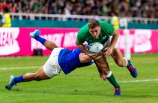 'Irrepressible' Larmour shines for Ireland with man-of-the-match display
