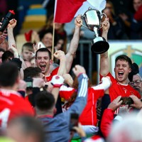 History makers! After 7 final defeats Padraig Pearses celebrate county senior glory at last