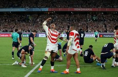 Brave Blossoms' attacking style thrills the World Cup on home soil