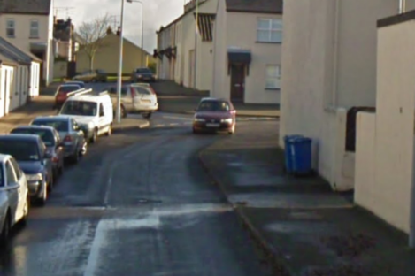 The Fairmount Cottages area where the attack took place. (File)