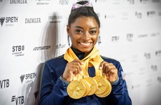 'It meant a lot' - Biles takes career record to 25 medals with win in world championships