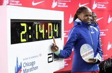 Kenya's Kosgei shatters Radcliffe world record in Chicago Marathon