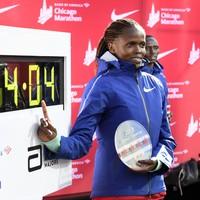 Kenya's Kosgei shatters Radcliffe world record in Chicago Marathon