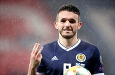McGinn hat-trick lifts Scottish gloom in San Marino rout in Euro qualifiers