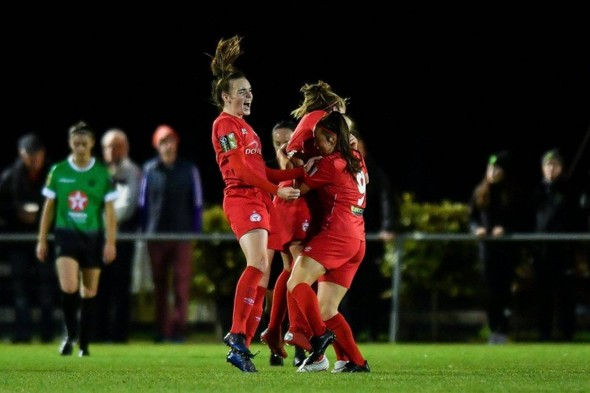 Breathtaking Shels goal sparks title race to life as holders Wexford book Aviva ticket