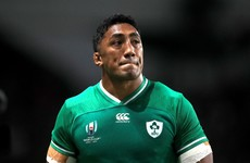 Bundee Aki's World Cup is over after being handed a three-match ban