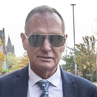 Gascoigne grabbed woman's face and kissed her 'completely out of the blue', court hears