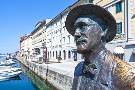 James Joyce statue in Trieste, Italy where the Dubliner lived for a period of his life.